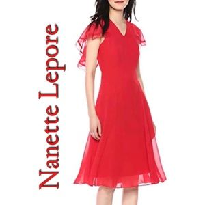 Nanette Lepore Red Riding Hood NWT Size 0